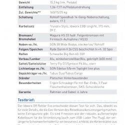 """Test idworx Off Rohler Evo 'travel spec': <br />""""Vergleichstest Aluräder – RADTouren Top-Produkt 3/15"""" – Testnote: 1,1"""