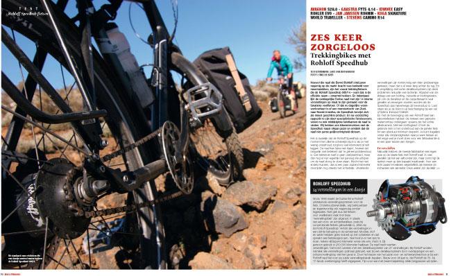 """Test idworx Easy Rohler Evo: <br />""""Rohloff Speedhub fietsen: zes keer zorgeloos"""""""