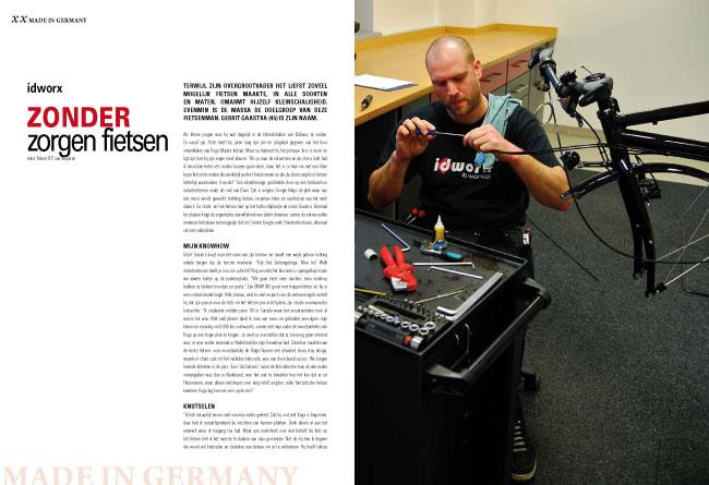 Made in Germany: idworx – zonder zorgen fietsen