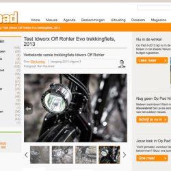 """Test Idworx Off Rohler Evo: <br />""""Verbeterde versie trekkingfiets Idworx Off Rohler"""""""