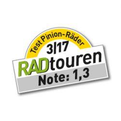 """Test idworx oPinion BLT 'multi spec': <br />""""RADTouren Top-Produkt 3/17"""" – Testurteil: Note 1,3"""