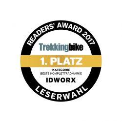 "Trekkingbike Readers' Award: idworx wieder ""Beste Komplettradmarke"""