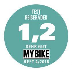 Test Reiseräder: idworx oPinion travel spec – Note 1,2 <br/ >Testsieger!