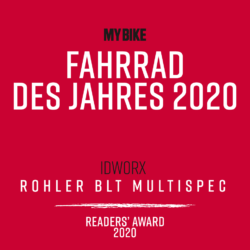 idworx Rohler BLT - Bicycle of the year!  MY BIKE Readers Award 2020