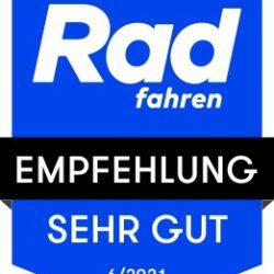 """Topdscore voor Grandone gravel in """"RAD fahren"""" 6/21"""